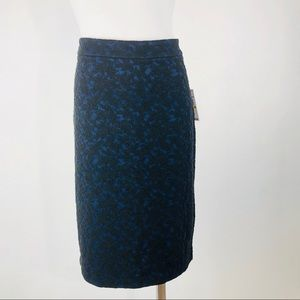 Micheal kors pencil skirt medium blue